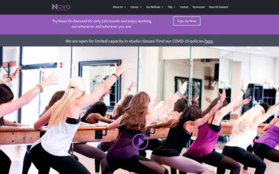 client spotlight: Novo Fitness Studio